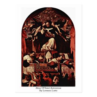 Alms Of Saint Antoninus By Lorenzo Lotto Postcard