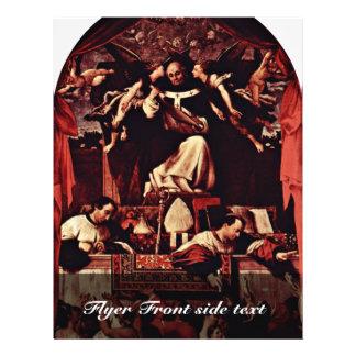"Alms Of Saint Antoninus, By Lotto Lorenzo (Best Qu 8.5"" X 11"" Flyer"