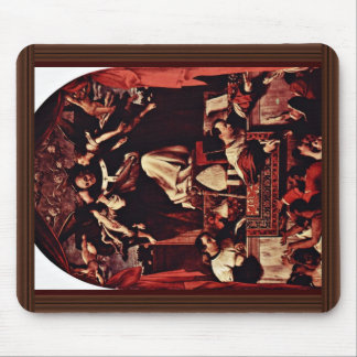 Alms Of Saint Antoninus, By Lotto Lorenzo (Best Qu Mouse Pad
