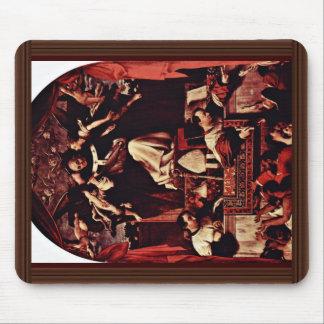 Alms Of Saint Antoninus, By Lotto Lorenzo (Best Qu Mousepads