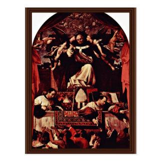 Alms Of Saint Antoninus, By Lotto Lorenzo (Best Qu Postcard