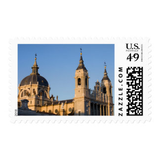Almudena Cathedral in Madrid Postage