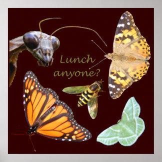 Almuerzo cualquier persona impresión del ~ posters
