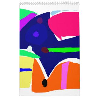 Almuerzo Curvaceous de la herramienta de la caja Calendarios De Pared