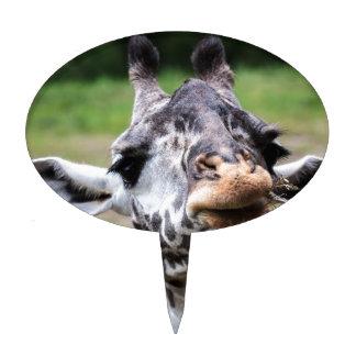 Almuerzo de la jirafa figura de tarta