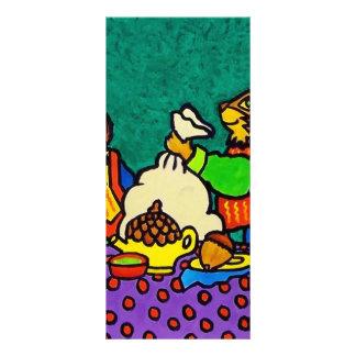 Almuerzo de las ardillas por Piliero Tarjetas Publicitarias A Todo Color