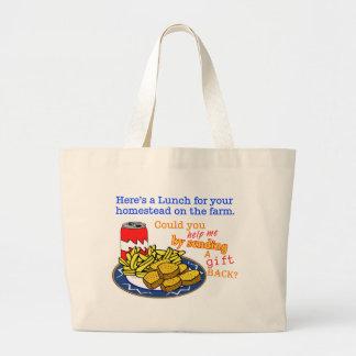 """""""Almuerzo para la bolsa de asas del juego de su gr"""