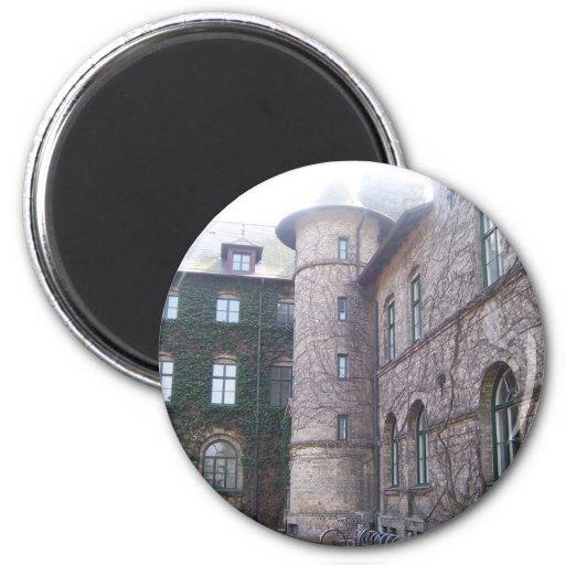 Alnarps Castle - Sweden 2 Inch Round Magnet