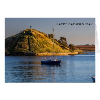 Alnmouth Fathers Day Greeting Card