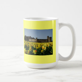 Alnwick Castle from the Gardens Classic White Coffee Mug