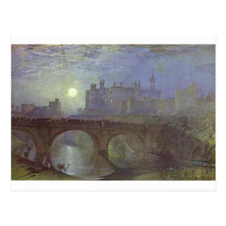 Alnwick Castle, Northumberland by William Turner Postcard