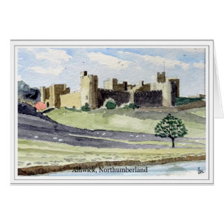 Alnwick Castle, Northumberland Card