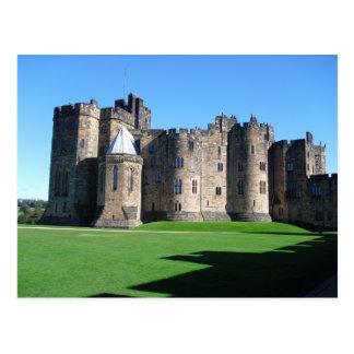 Alnwick Castle, Northumberland, England Postcard