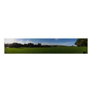 Alnwick Castle Panoramic Poster