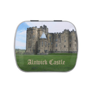 Alnwick Castle UK Jelly Belly Candy Tin