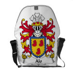Alo Family Crest Courier Bags