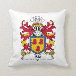 Alo Family Crest Pillows