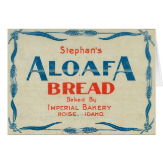Aloafa Bread Card