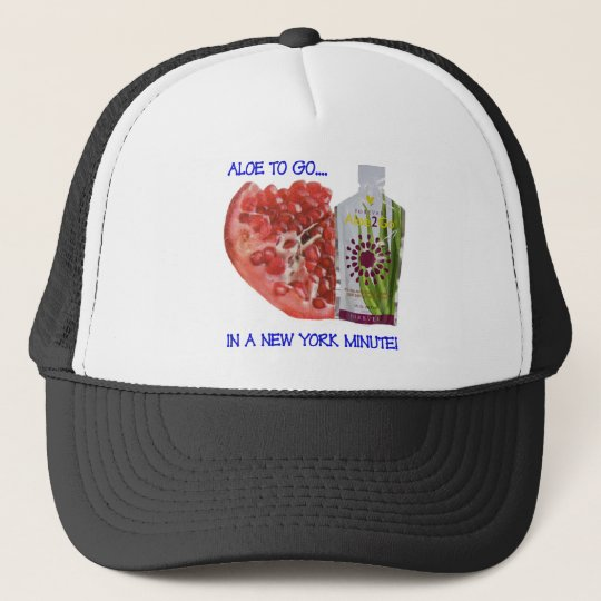 Aloe 2 Go in a New York Minute Trucker Hat