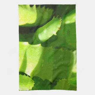 Aloe Abstract Kitchen Towel