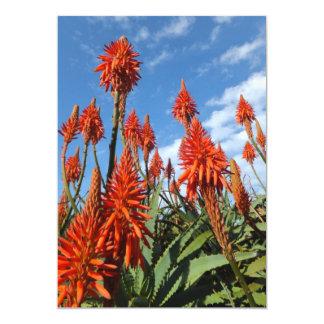 Aloe Arborescens invitation, customize Card