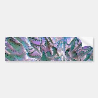 Aloe Blaetter Bumper Sticker