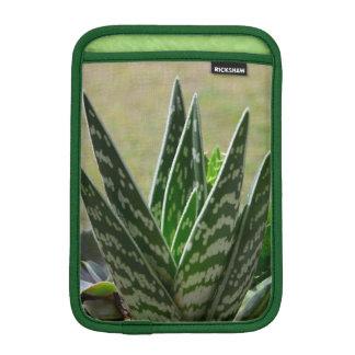 """Aloe """"Gator"""" Variegata Succulent iPad Mini Sleeve"""