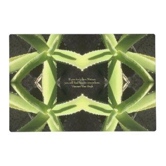 Aloe Pattern 3h Placemat