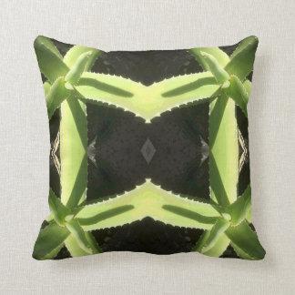 Aloe Pattern 3h Throw Pillow