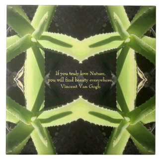 Aloe Pattern 3h Tile