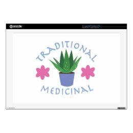 Aloe Plant Traditional Medicinal Laptop Skins
