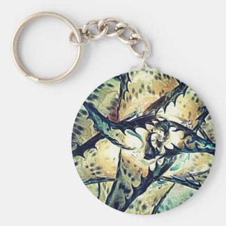 Aloe Star Keychain