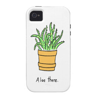 Aloe There Vibe iPhone 4 Case