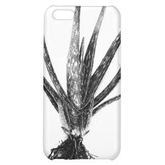 Aloe Vera (Black on White) Case For iPhone 5C