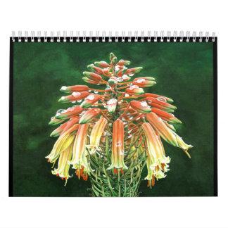 Aloe vera calendar
