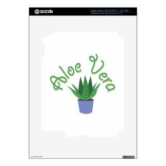 Aloe Vera iPad 3 Decal