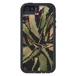 Aloe Vera (lino cut print) S5 iphone cover