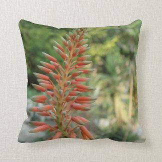 Aloe Vera Plant Photo Throw Cushion
