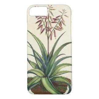 Aloe Vera Vulgaris, from 'Phytographia Curiosa', p iPhone 7 Case