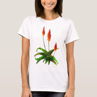 Aloe watercolor T-shirt