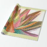 Aloe watercolor wrapping paper by DLB