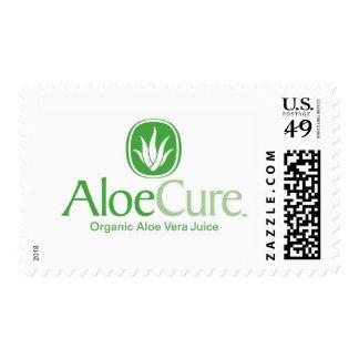 AloeCure® Organic Aloe Vera Juice Products Postage Stamp