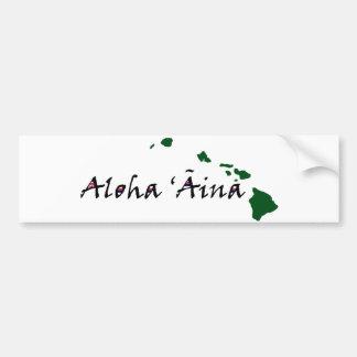 Aloha 'Āina Bumper Sticker