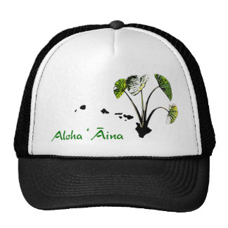 Aloha 'Āina Kalo Trucker Hat