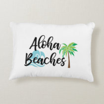 aloha beaches accent pillow