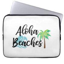 aloha beaches computer sleeve