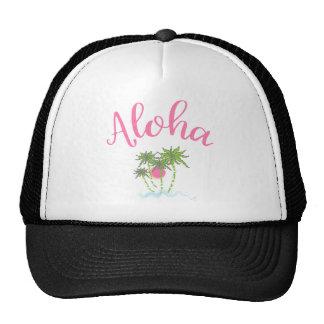 Aloha-Beaches Hawaiian Style Vacation Cool Trucker Hat