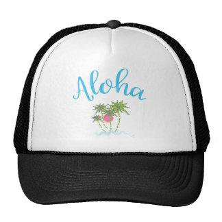 Aloha-Beaches, Hawaiian Vacation Cool Trucker Hat