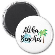 aloha beaches magnet
