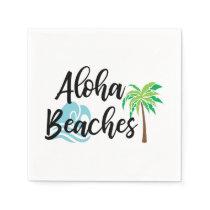 aloha beaches napkin